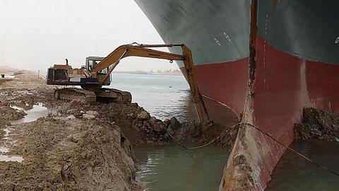 Sekatan Suez dorong bayaran kapal naik