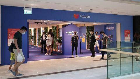 Lazada buka kedai fizikal di bekas premis Robinsons di Raffles City