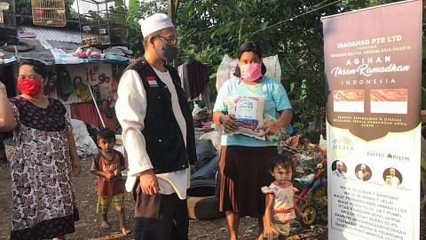 IBADAHSG PTE LTD Hulur bantuan Ihsan Ramadan di beberapa negara