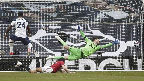 United benam Tottenham perkukuh tempat kedua