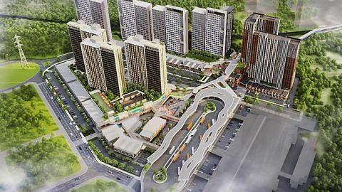 Surbana, Sinarmas kerjasama bangun kompleks pengangkutan di Jakarta