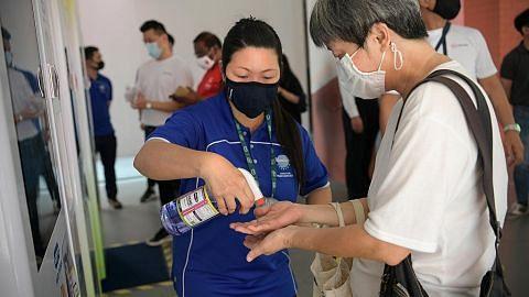 Bawa bil SG Power dan terima sanitiser percuma dari Yayasan Temasek