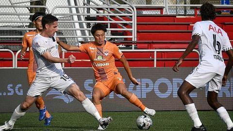 Albirex tewaskan Tampines untuk loncat ke persada liga