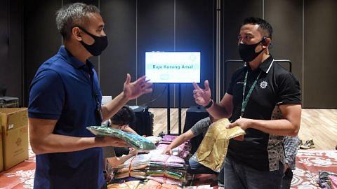 Kurnia@WGS anjur projek amal baju Raya