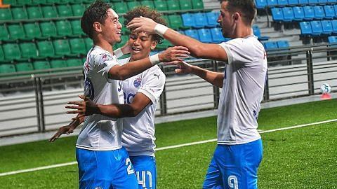 Gabriel Quek terus cemerlang jaring tujuh gol musim ini