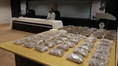 Lebih 40kg dadah bernilai $2.3 juta dirampas