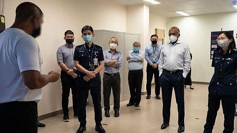 Shanmugam: Banduan jalani pemulihan dalam masyarakat naik 42% tahun lalu