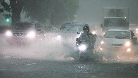 Hujan paling lebat dalam sehari sejak 1980...