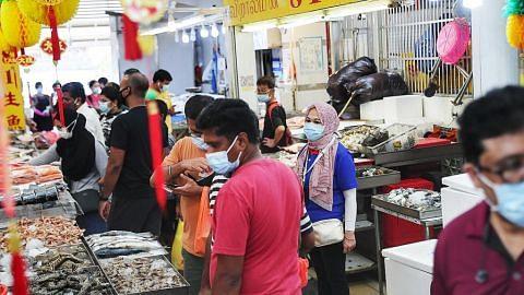 Langkah selamat di pasar Geylang Serai, Tekka ditingkat