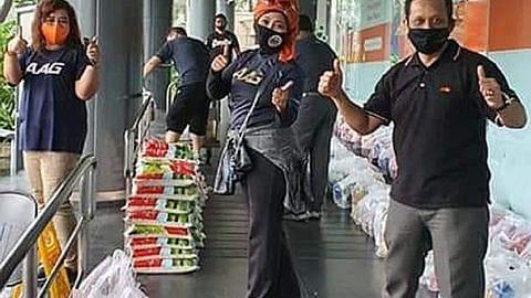 Ejen hartanah berbilang kaum bantu golongan susah sempena Ramadan