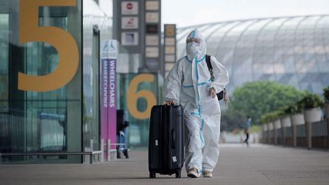 Lapangan Terbang Changi asing penumpang dari negara risiko tinggi
