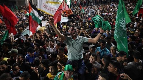 KONFLIK ISRAEL-PALESTIN Israel, Hamas umum gencatan senjata