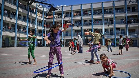 Di Gaza, lara itu kehidupan