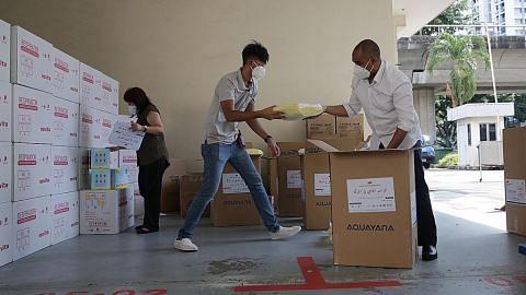 Rakyat SG menyingsing lengan bagi bantu rakyat Palestin