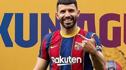 Aguero sertai Barca