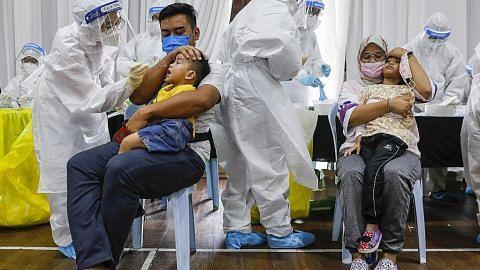 Covid-19: 82,341 kanak-kanak, bayi dijangkiti di M'sia