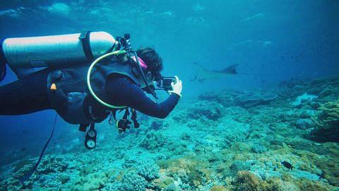 Nadia gemar menyelam, pernah ke Australia, Thailand, Afrika dan Jepun