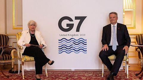 BERITA G-7 didesak biayai program vaksinasi Covid-19 global