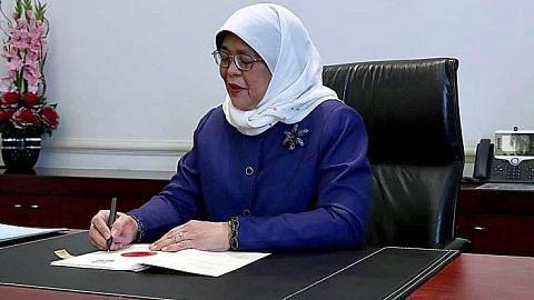 Presiden Halimah beri persetujuan pinjaman projek prasarana penting