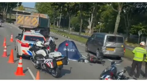Remaja wanita maut dalam nahas motosikal