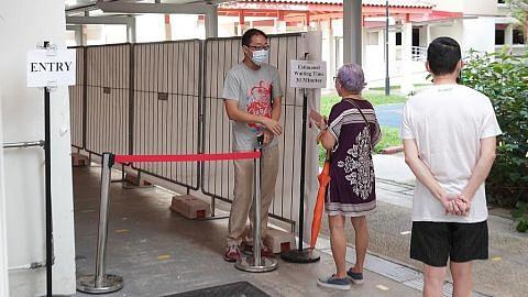 Tapak sementara bagi ujian Covid-19 wajib bagi penjaja Blok 116 Bukit Merah View