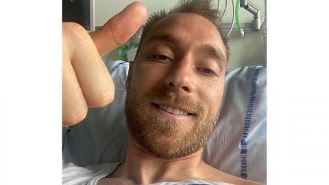 Eriksen 'baik-baik saja memandangkan insiden yang dialami'