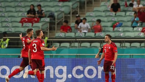 Switzerland menang untuk hidupkan peluang ke pusingan kalah mati