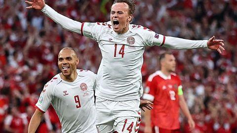 Denmark buat kejutan belasah Russia 4-1 untuk mara