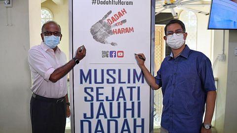 Shanmugam: Sokongan masjid adalah penting bantu tingkat kesedaran antidadah
