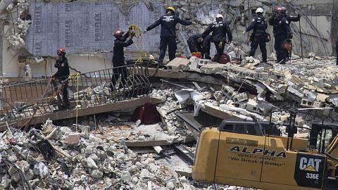 Angka korban meningkat, struktur rekaan asal dikatakan punca roboh