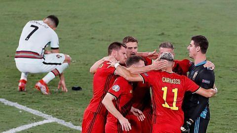 Belgium singkir juara bertahan Portugal