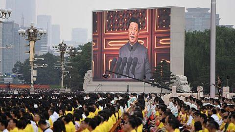 China beri amaran kepada kuasa asing sempena ulang tahun ke-100