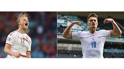 Denmark, Czech sama bersemangat kuat walau 'kerdil'