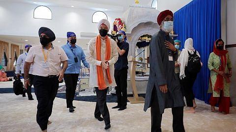 PM Lee: Rumah ibadah semarakkan keharmonian agama