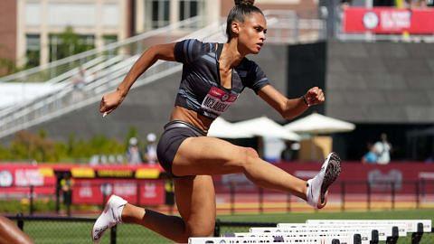 Sydney McLaughlin 'kuasa baru' lompat pagar