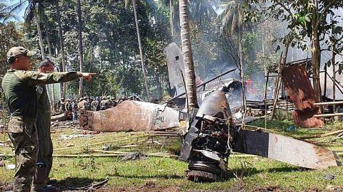 Kotak hitam pesawat tentera Filipina ditemui