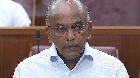 SG ambil tindakan tegas ke atas ucapan benci kaum tetapi tidak larang perbincangan: Shanmugam