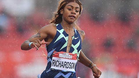 Richardson digantung selepas positif marijuana