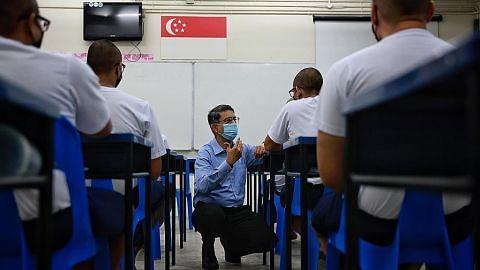Latihan bagi relawan yang bekerja dengan banduan akan dipertingkatkan