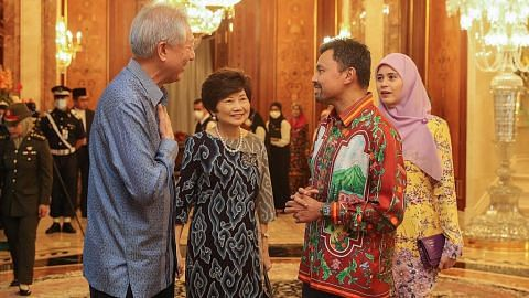 SM Teo di Brunei hadiri sambutan ulang tahun ke-75 Sultan Hassanal Bolkiah