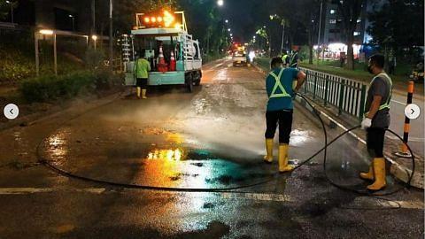 Pihak berkuasa siasat limpahan air di Bukit Batok