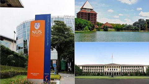 NUS, universiti Indonesia kerjasama rangsang keusahawanan, inovasi
