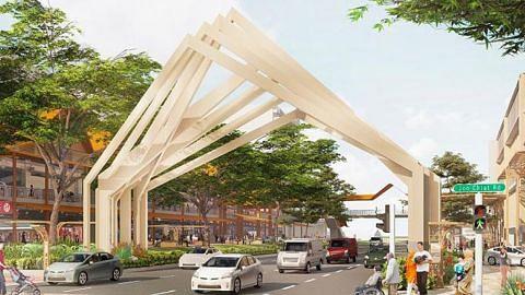 'Gerbang' gah bakal sambut pengunjung di Jalur Budaya Geylang Serai