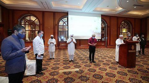 Wakil pelbagai agama doa bagi keselamatan pelajar