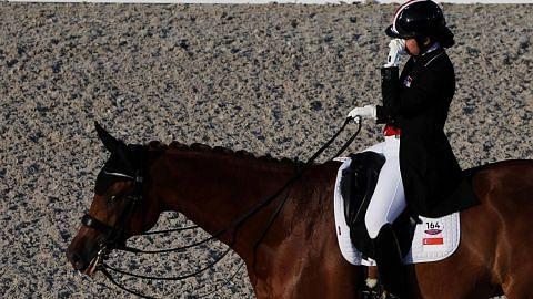 Atlet ekuestrian S'pura tersingkir selepas kuda alami pendarahan