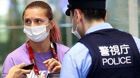 Krystsina selamat dalam jagaan polis Jepun selepas dipaksa pulang