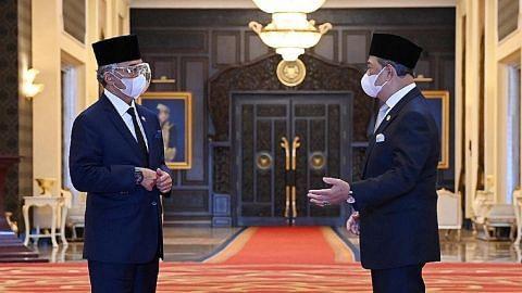 Istana utus surat ingin tahu jumlah sokongan bagi Muhyiddin