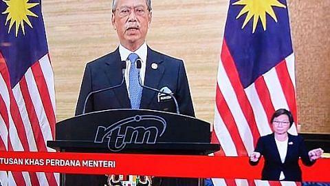 Muhyiddin letak jawatan Perdana Menteri M'sia