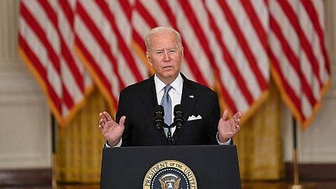 Biden bertegas pada pendirian undurkan askar AS