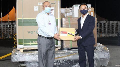 S'pura derma 100,000 dos vaksin Moderna kepada Brunei